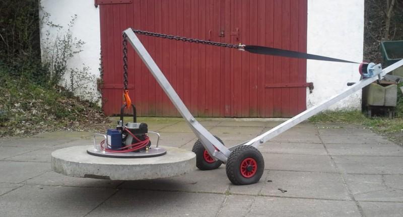 Løftevogn til dæksel - når de tunge løft skal gøres lettere